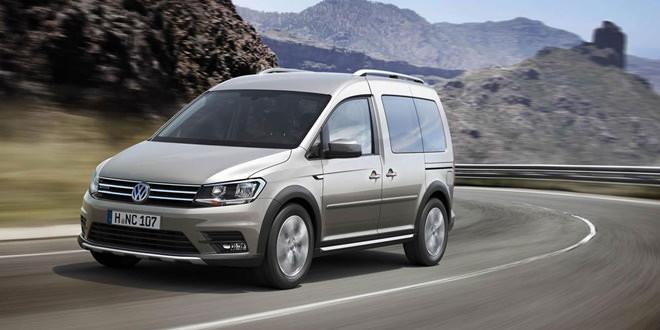 Новый Volkswagen Caddy получил Alltrack-версию