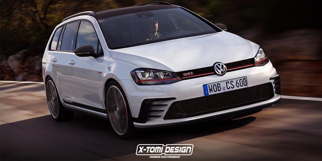 Рендер унирвесала Volkswagen Golf GTI Clubsport