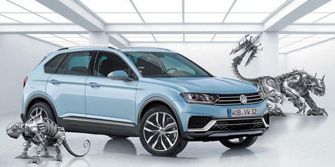 Последний рендер нового Volkswagen Tiguan перед премьерой