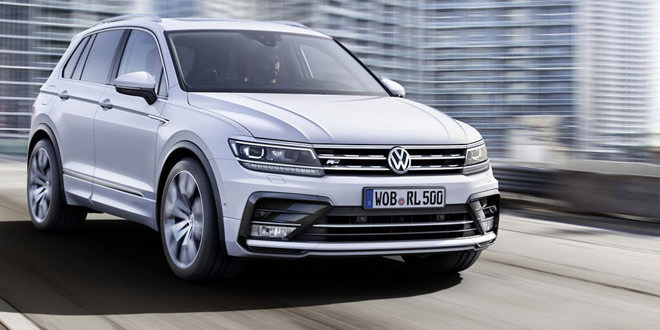 Рассекречен Volkswagen Tiguan нового поколения