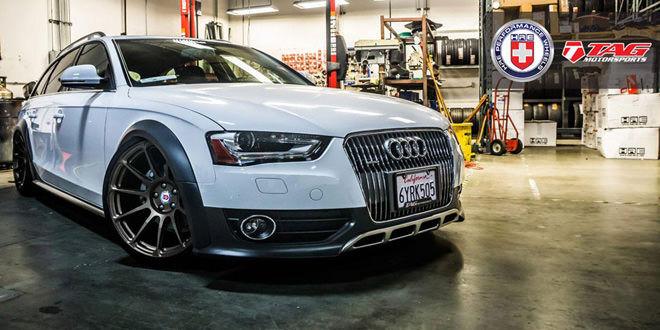 Audi A4 Allroad на дисках HRE Wheels