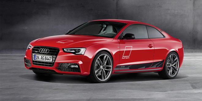 Анонсирована спецсерия Audi A5 DTM из 50 экземпляров