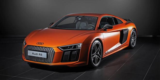 Новая Audi R8 в виниле от HplusB Design