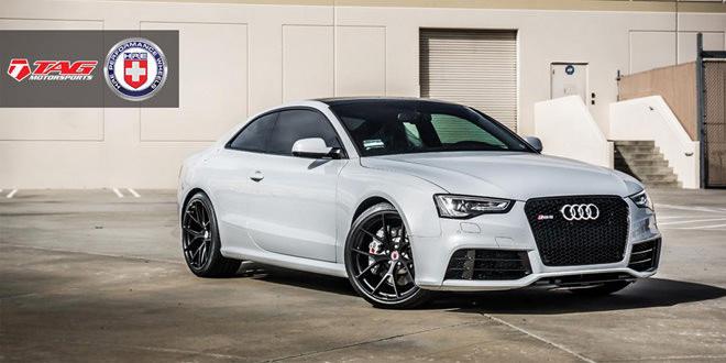 В TAG Motorsports Audi RS5 поставили на диски HRE Wheels