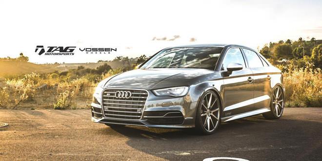 Audi S3 — маленький седан с грозным видом от TAG Motorsports