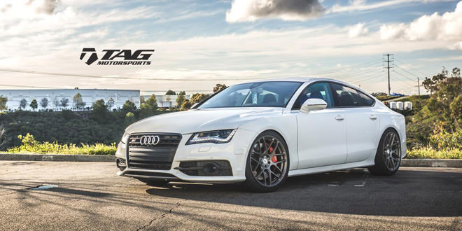 Audi S7 на дисках Vossen от TAG Motorsports