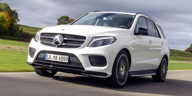 Компания Mercedes-Benz показала GLE450 AMG 4MATIC