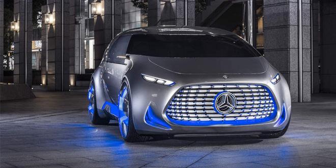 В Токио состоялась премьера концептуального минивэна Mercedes Vision Tokyo
