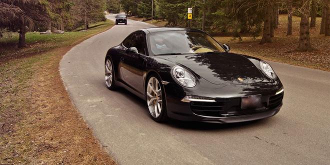 Porsche 911 на эффектных дисках PUR в доработке Inspired Autosport