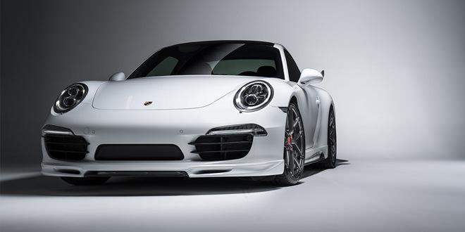 Porsche 911 Carrera S в аэрокомплекте V-GT от Vorsteiner