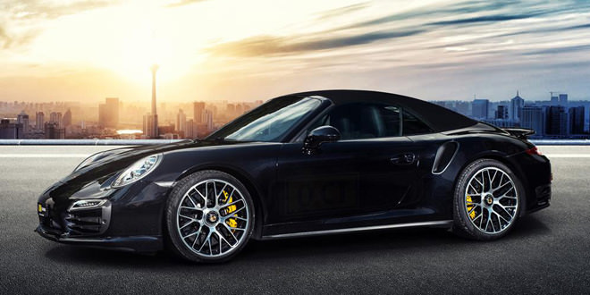 Porsche 911 Turbo S получил пакет повышения мощности от O.CT Tuning