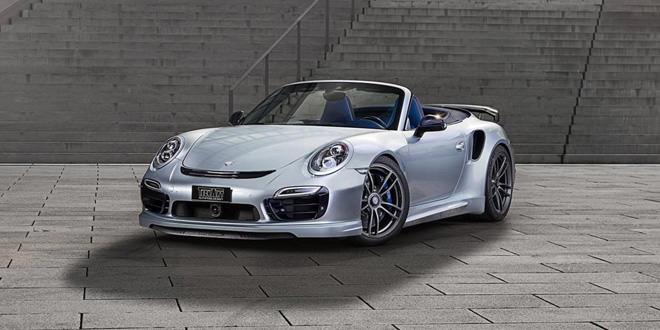 Porsche 911 Turbo S Cabriolet в тюнинге от TechArt