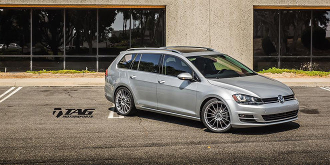 Volkswagen Golf Wagon в легкой доработке от TAG Motorsports