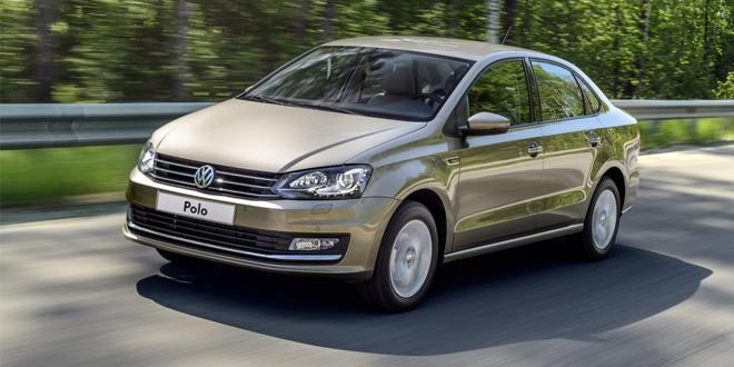 Volkswagen Polo Sedan на прокат от компании «Альмак Прокат»