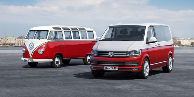 Известны цены на новый Volkswagen Transporter в спецверсии Generation Six
