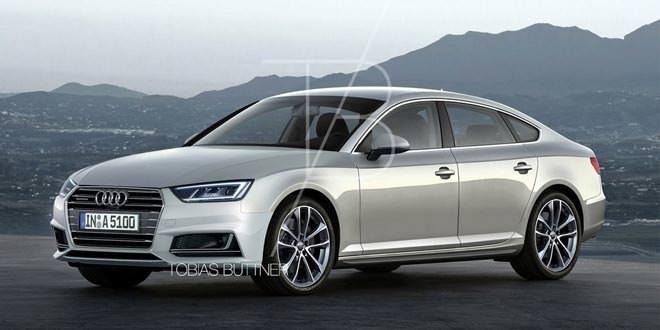 Возможная внешность Audi A5 Sportback нового поколения