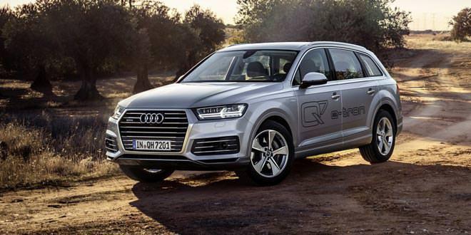 Известны европейские цены гибридной Audi Q7 e-tron