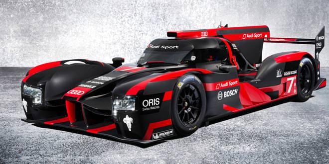 Audi представила новый гибридный прототип R18 для гонок