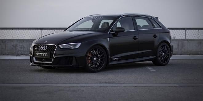 Ателье MTM поработало над новой Audi RS3