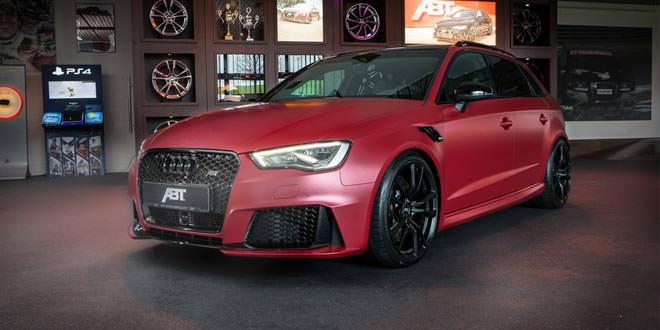 Ателье ABT Sportsline поработало над Audi RS3 Sportback