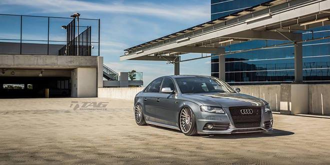 Над Audi S4 поработали в TAG Motorsports