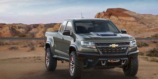 Представлен концепт на базе пикапа Chevrolet Colorado