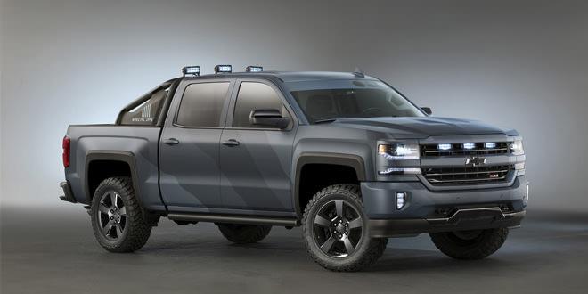Chevrolet подготовил пикап Silverado для войск специального назначения