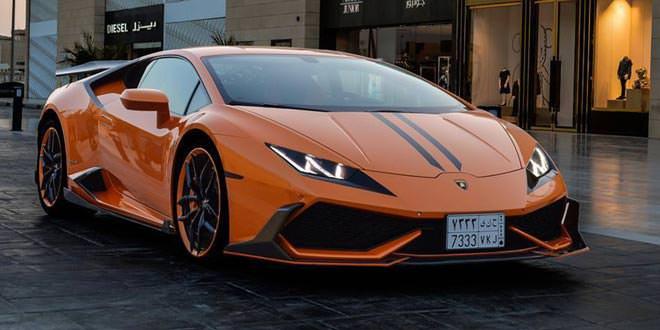 DMC Lamborghini Huracan в стайлинге Heavy Mascara