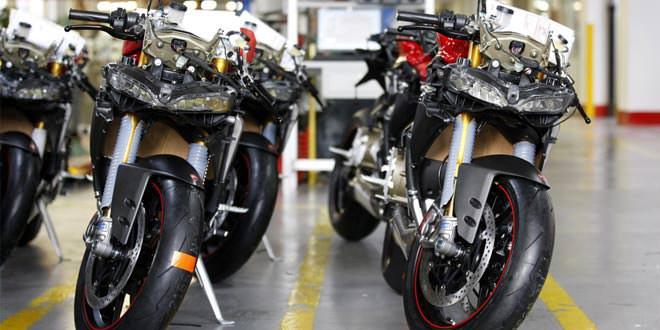 Компания Ducati продала с начала года более 50 000 байков