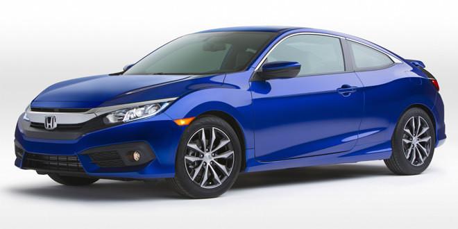 Купе Honda Civic перешло в новое поколение