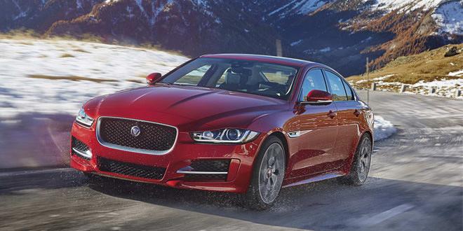 Вышла полноприводная версия седана Jaguar XE