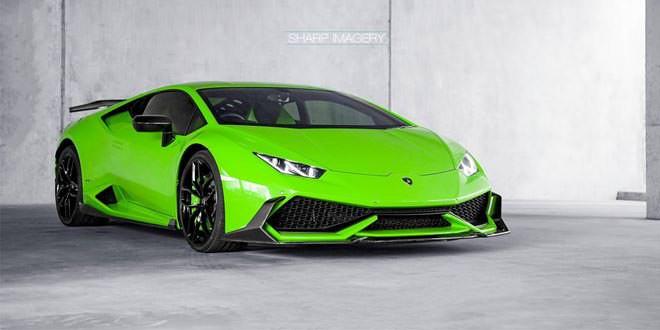 Lamborghini Huracan с выхлопной системой Akrapovic