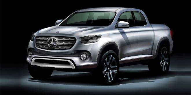 Компания Mercedes-Benz выпустит еще один пикап
