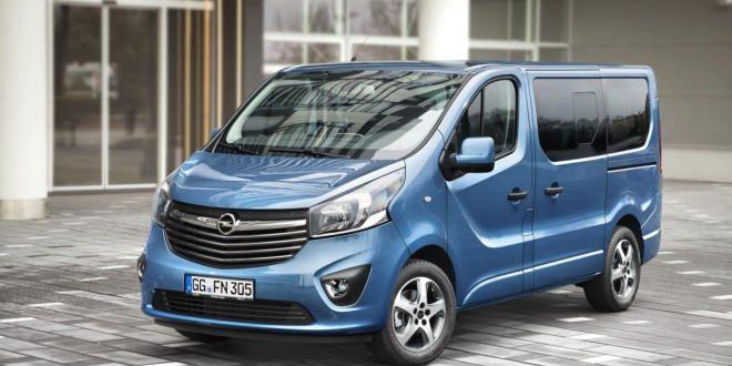 Новое поколение Opel Vivaro получило пассажирскую версию