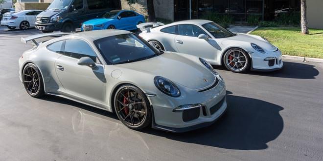 В Supreme Power доработали два экземпляра Porsche 991 GT3
