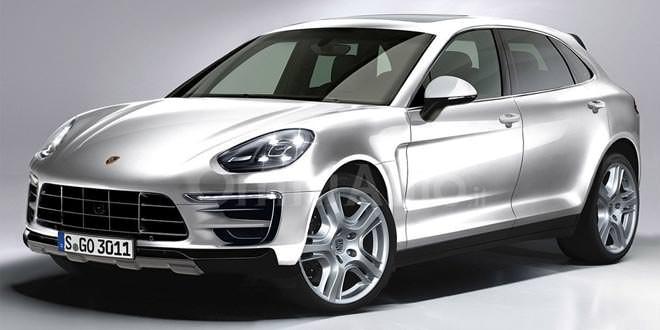 Рендер Porsche Cayenne следующего поколения