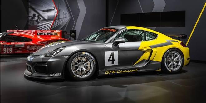 В Лос-Анджелесе дебютировал Porsche Cayman GT4 Clubsport