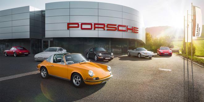 Компания Porsche открыла первый центр продажи классических авто