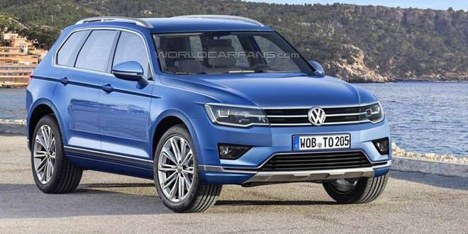 Volkswagen Touareg третьего поколения покажут в 2017 году