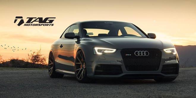 Audi RS5 на дисках Vossen VPS306