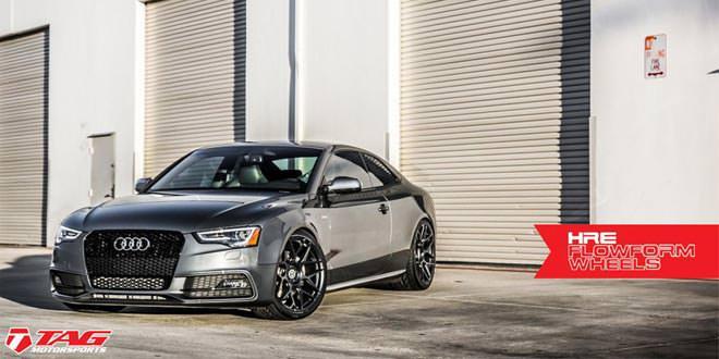 Audi S5 примерила диски HRE FF01