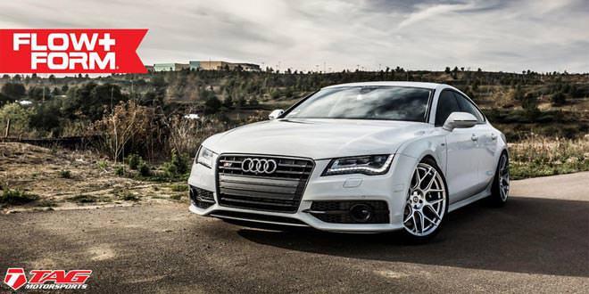 Audi S7 на дисках HRE FF01