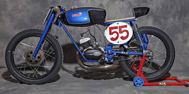 Кастом Ducati 48 Rapido от XTR Pepo