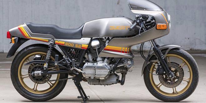 На аукционе Bonhams продадут оригинальный Ducati 900 S2
