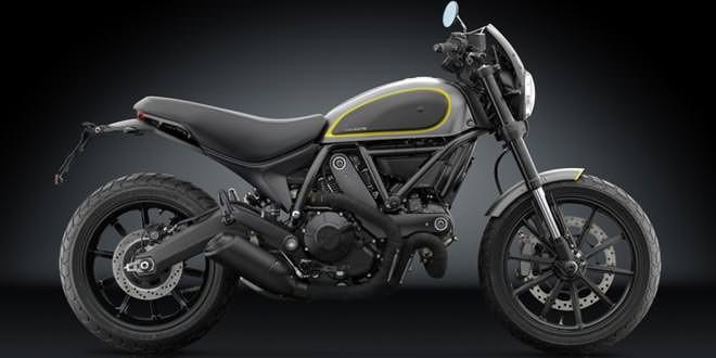 Ducati Scrambler 2016 примерил аксессуары Rizoma