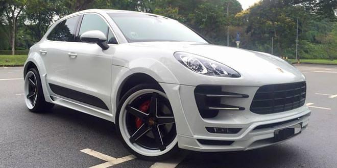 Hamann Porsche Macan от KBS MotorSports