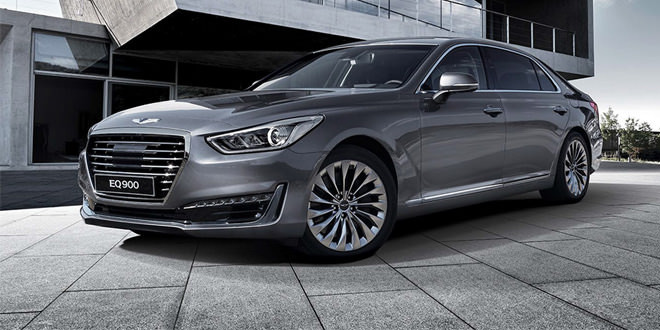Genesis G90 — самая роскошная модель Hyundai