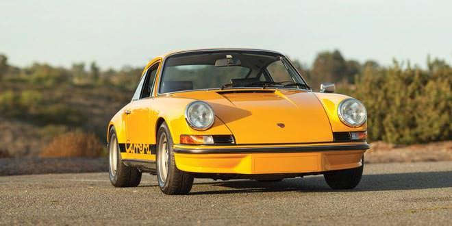 Уникальный Porsche 911 Carrera могут продать за 1 млн долл.