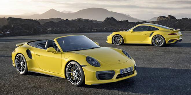 Porsche 911 Turbo и Turbo S обновились
