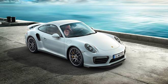 Новые фотографии и видео рестайлингового Porsche 991 Turbo